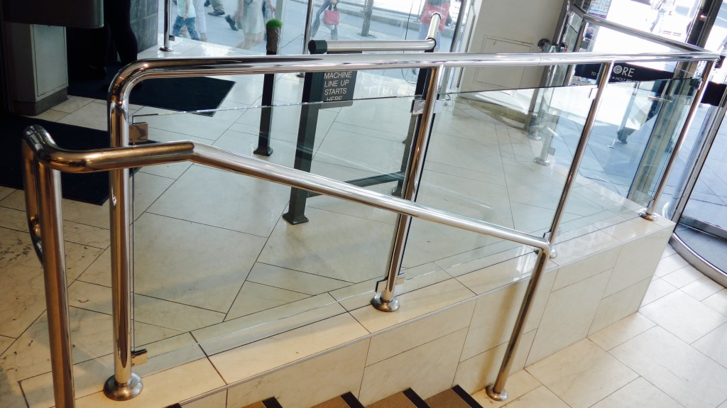 Commercial Stainless Railing