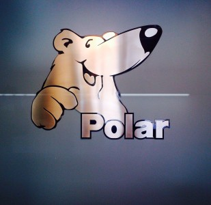 Polar Mobility Stainless Sign
